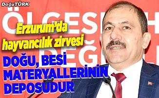 """Erzurum'da """"Bölgesel Hayvancılık Değerlendirme Toplantısı"""""""