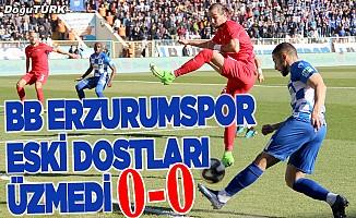 Erzurum'da gol sesi çıkmadı