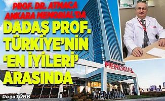 Erzurumlu Prof. Dr. Atmaca, Ankara MEMORIAL'da