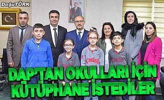 İlkokul öğrencileri DAP İdaresini ziyaret etti