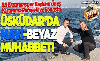 Üsküdar'da mavi-beyaz muhabbet!