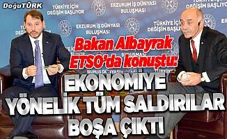 Bakan Albayrak: Ekonomiye yönelik tüm saldırılar boşa çıktı