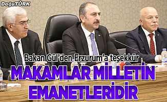 Bakan Gül'den AK Parti İl Başkanlığı'na ziyaret
