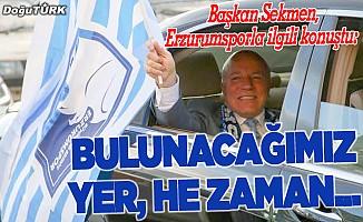 BB Erzurumspor, Süper Lig'e döneceğinden emin…