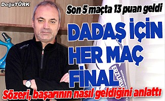 Büyükşehir Belediye Erzurumspor için her maç final
