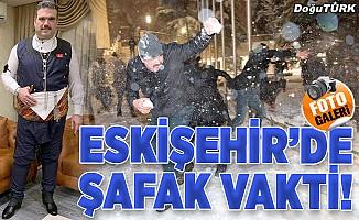 Eskişehir'de Şafak vakti!