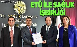 ETÜ ile İl Sağlık Müdürlüğü iş birliği protokolü imzaladı