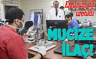 Türkiye'nin ilk milli ilacı Atatürk Üniversitesi'nden