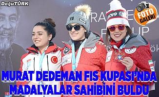 Uluslararası Murat Dedeman FIS Kupası'nda madalyalar dağıtıldı