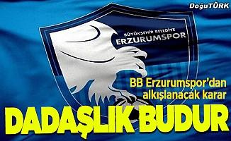Başkan Üneş, duyurdu: Alkışlar Erzurumspor'a