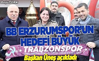 BB Erzurumspor'un hedefi büyük