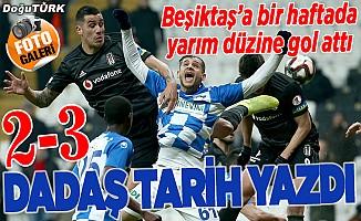 Beşiktaş'a acılı tarife: İki maç, yarım düzine gol!