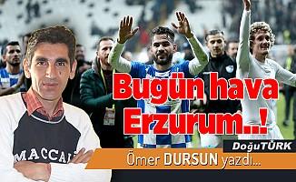 Bugün hava Erzurum..!
