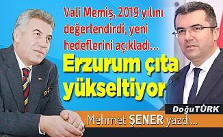Erzurum çıta yükseltiyor