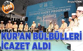 Erzurum'da 333 hafız icazet aldı