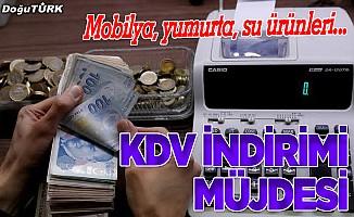 Mobilya, yumurta ve su ürünlerinde KDV indirimi yapıldı