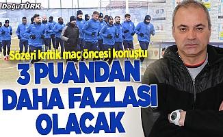 """BB Erzurumspor, Bursaspor karşısında """"3 puandan fazlasını"""" istiyor"""