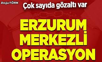 Erzurum merkezli operasyon