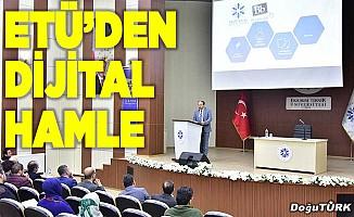 ETÜ'de dersler dijital ortama taşındı