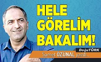 HELE GÖRELİM BAKALIM!