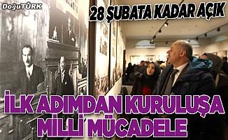 """""""İlk Adımdan Kuruluşa Milli Mücadele Karma Sergisi"""" Erzurum'da açıldı"""