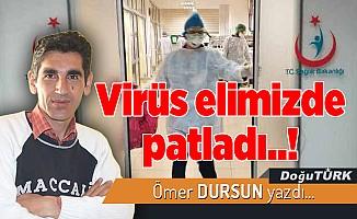 Virüs elimizde patladı..!