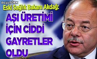 Akdağ: AK Parti iktidarlarında aşı üretimi için ciddi gayretler oldu