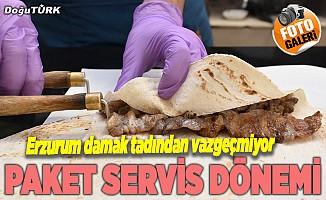 Erzurum damak tadından vazgeçmiyor