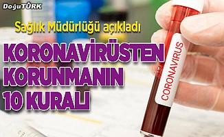 Koronavirüsten korunmanın kuralları