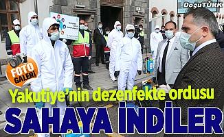 Yakutiye'nin koronavirüs ile mücadele ekipleri iş başında