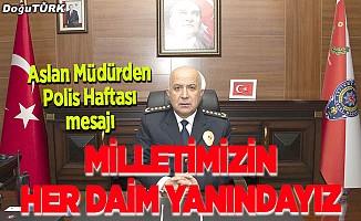 Aslan: Erzurum halkına şükranlarımı sunuyorum