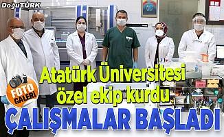Atatürk Üniversitesi özel ekip kurdu