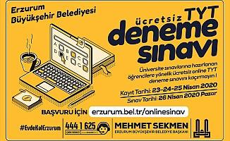 Büyükşehir'den online deneme sınavı