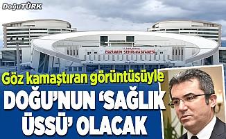 Erzurum Şehir Hastanesi göz kamaştırıyor