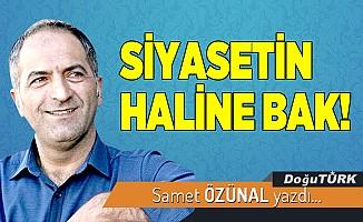 SİYASETİN HALİNE BAK!