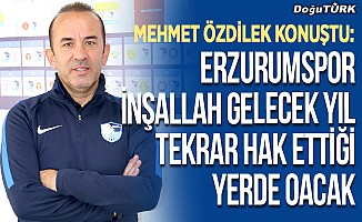 BB Erzurumspor, Süper Lig hedefine odaklandı