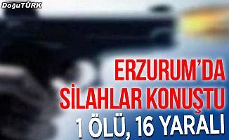 Erzurum'da arazi kavgası: 1 ölü, 16 yaralı