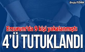 Erzurum'da hırsızlık zanlıları tutuklandı
