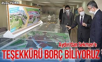 MHP'li Aydın'dan Sekmen'e teşekkür