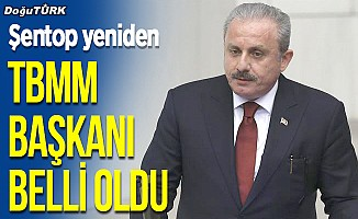 AK Parti'li Mustafa Şentop, yeniden TBMM Başkanı