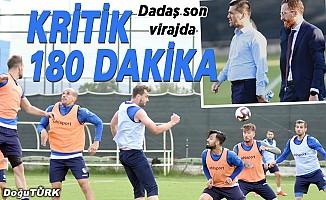 BB Erzurumspor için Süper Lig yolunda kritik 180 dakika