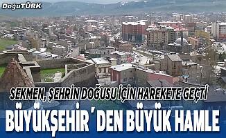 Büyükşehir'den büyük hamle