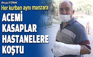 """Doğu Anadolu'da """"acemi kasaplar"""" hastanelik oldu"""