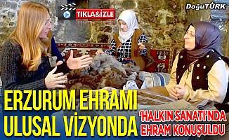 Ehram 'Halkın Sanatı'nda izleyiciyle buluştu