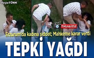 Erzurum'da tepki çeken görüntüler; Zanlı yakalandı...