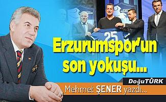 Erzurumspor'un son yokuşu…