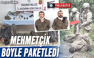 Görüntüler paylaşıldı: Mehmetçik o hainleri böyle enseledi