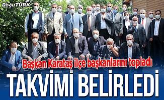 MHP Erzurum'da start verdi; Kongreler başlıyor