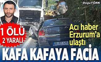 Acı haber Erzurum'a ulaştı; Genç imam feci kazada öldü