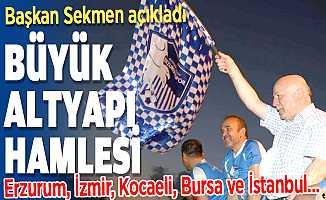 Başkan Sekmen'den Erzurumspor için altyapı atağı